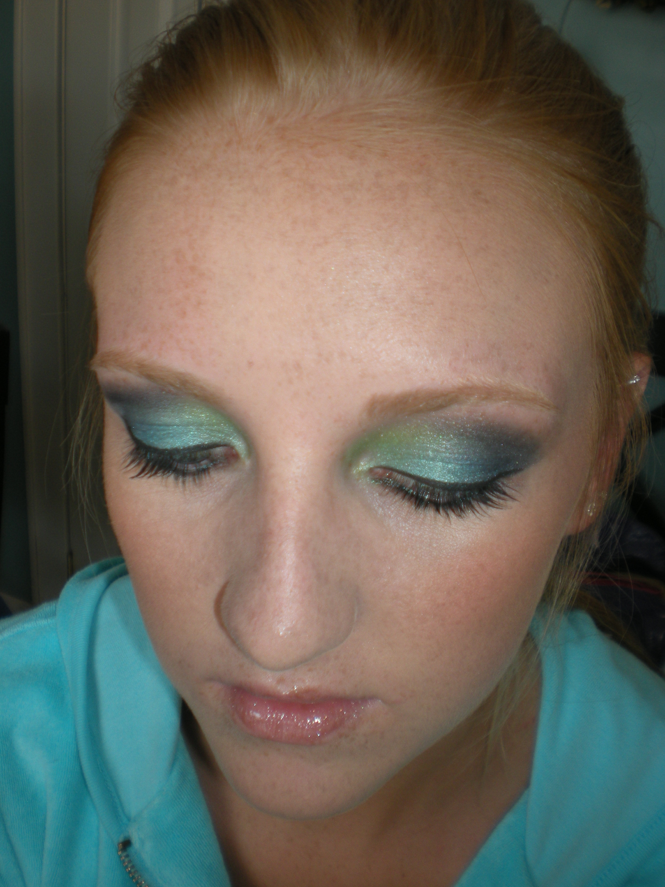 Prom makeup for green eyes